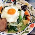 オトメ - 中華丼850円(税別)