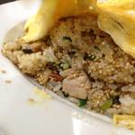 みょうが屋 - 刀根鶏四川風ソースのチャーハン