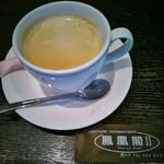 ホウオウカクツー - セットのコーヒー