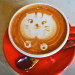 Alpha Betti Cafe - カフェラテ