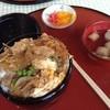 はせがわ - 料理写真:カツ丼 750円