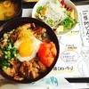 士別イン翠月 - 料理写真:ラムとろ丼♡サフォークを食べるために士別まで来たので食べれて良かった♪