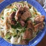 福屋 - 肉そば(700円)