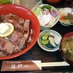 にっぽんの洋食 江戸一 - 2014/04/23 12:00訪問 ビフテキ丼