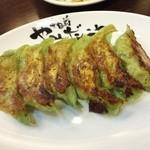 37386821 - お野菜たっぷりヘルシー餃子♪