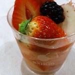 サン・フルーツ - 3種の苺ゼリー