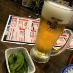えびす屋 - ビールとお通し