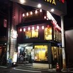 今成 - 昔の小田急線沿い、一番街