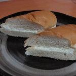 小竹製菓 - 小竹のサンドパン中身