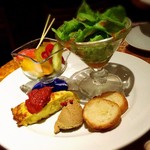 トトロ - 前菜の盛り合わせ