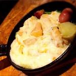 トトロ - チーズのラクレット(完成〜)