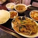 福ちゃん - 料理写真:中華風生姜焼肉