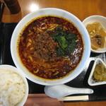 一番太鼓 - 担々麺 辛め(+ライス100円)