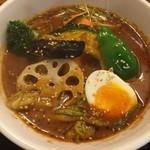 きいろ - チキン野菜スープカレー、1000円です。