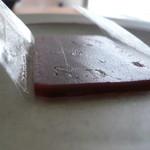 菓匠庵・錦屋 - 料理写真:献上小倉羊羹 薄切