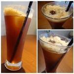エトワールコーヒー - エスプレッソトニック(700円)・・珈琲にトニックウォーターを合わせた品。