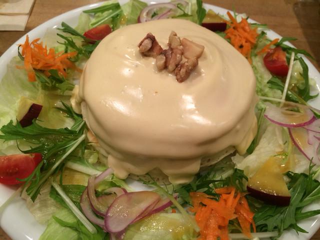 パンケーキママカフェ VoiVoi - 4種のチーズのパンケーキ、お食事系♫