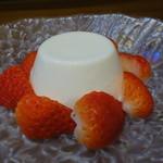 宮もと - ☆ミントのブラマンジェ&苺☆