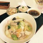 中華 百華園 - 中華丼?家庭の味です。