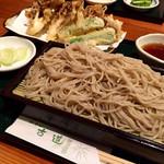 古道 - 料理写真:舞茸天せいろ@1000円