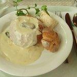 コーヒーハウス ユーコン - 若鶏ときのこのクリームシチュー