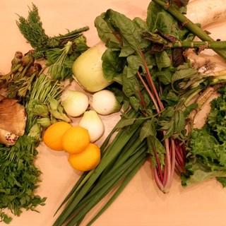 お野菜、調味料もすべて無農薬