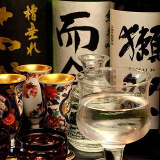 唎酒師の店主が厳選する日本酒