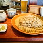 夢乃蕎麦 - もりそば 600円