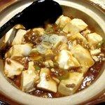 福星飯店 - 料理写真:麻婆豆腐!