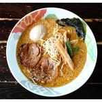 ぐうでん - 「濁り味噌拉麺」(2013.07)