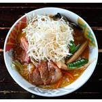 ぐうでん - 「濁り味噌ネギ拉麺」(2013.07)