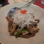 大吉 - 牛肉とレンコンの炒め
