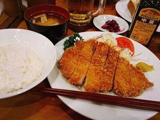 パラタン - 豚ロースカツ定食 1,280円