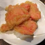 なか屋 - 紅生姜天ぷら