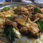 木村屋 - 料理写真:ホルモン焼き2人前トッピング全乗せ(玉ネギ・長ネギ・キムチ・ニラ)