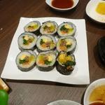 宙 SORA 韓国家庭料理&焼肉 - キンパ