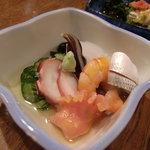 魚がし - 酢のもの盛り合わせ