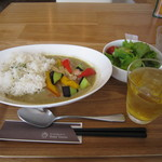バーン タワン - 料理写真:グリーンカレーのランチ☆