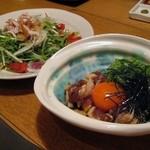 Kuruma - 肩ロース漬け (地頭鶏地鶏コースアレンジ)