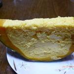 ぽんぽこの里 - 南瓜チーズケーキ(250円)