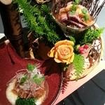 レストラン一国 - 前菜①