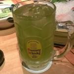 OHASHI - 緑茶割り でかっ!!