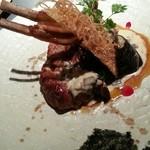 レストラン一国 - 牛ハラミとスペアリブのオーブン焼き