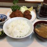 わらじ亭 - ヒレカツ  470円(税込) ご飯セット  335円(税込)