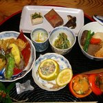 旬の野菜レストラン 農悠舎王隠堂 - 秋の農園料理。一例です。