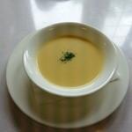 えびめしや - スープ(えびめしプレート)