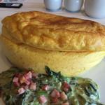 ラ・メール・プラール イオンモール岡山店 - 日替りほうれん草とベーコンのクリームソース