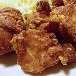 福徳食堂 - 鶏の唐揚げ250gアップですw