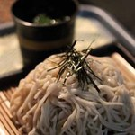 明己悟 - ざる蕎麦