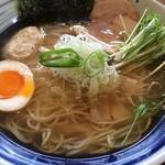琥珀 - 琥珀そば 細麺(770円)
